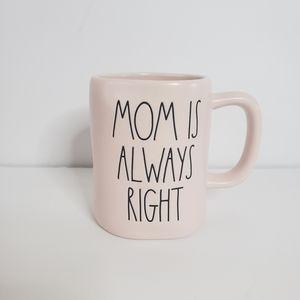 Rae Dunn Mom is Always Right Mug